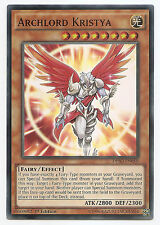 Archlord Kristya DESO-EN050 Super Rare Yu-Gi-Oh Card 1st Edition English Mint