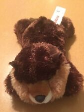 Aurora Bean Bag Beaver Plush 6""