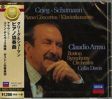 ARRAU (PF), DAVIS (CON)-GRIEG & SCHUMANN: PIANO CONCERTO-JAPAN CD C15