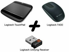 Bundle: Logitech T400 Maus black +Touchpad+Unifying Receiver Set NEU DHL VERSAND