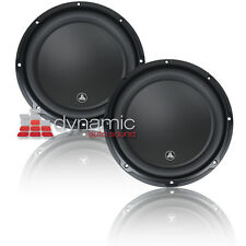 "Two (2) JL AUDIO 10W3v3 Subwoofer SVC 4-ohm 10"" Subs 10W3v3-4 Sub 1,000W New"