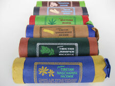 6 High Quality TIBETAN INCENSE~ hemp + juniper + cedar