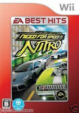 Used Wii Need for Speed: Nitro Best Nintendo JAPAN JP JAPANESE JAPONAIS IMPORT