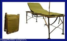 NEW IN BOX US Military Army Portable Field Hosptial Bed Cot Adjustable ICU Medic