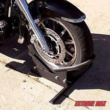 Toy Hauler Trailer Truck Motorcycle Harley Wheel Tire Chock Storage Stand Kit