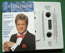 The Joe Longthorne Songbook Songs of Love & Happiness Cassette Tape - TESTED