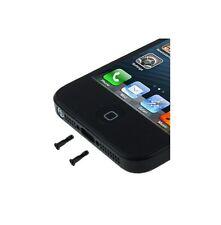 2 VITI PENTALOBO PER IPHONE 5 ricambio nere metallo accessori kit