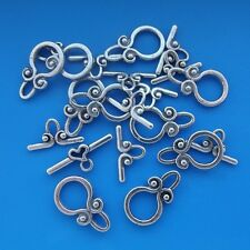 10 x Tibetan Silver Toggle Clasps 20mm