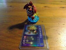 SKYLANDERS SWAP FORCE * WHAM-SHELL LIGHTCORE * STAT CARD * USED * 5 DAY *