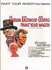 """SELECTIONS FROM """"PAINT YOUR WAGON"""" with Clint Eastwood, Lee Marvin -piano, vocal"""