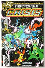 CRISIS ON INFINITE EARTHS #1 First Spectacular Issue! DC Comic Book ~ VF