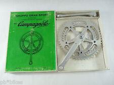 Campagnolo crankset Gran Sport 170mm 52 42 chainrings vintage Road Bicycle NOS