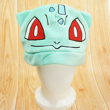 Cosplay Costume Anime Pokemon Bulbasaur Warm hats plush hat Monster cap Xma Gift