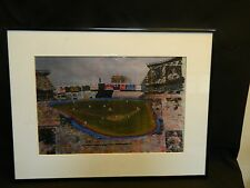 Vintage 8x12 New York Yankees Stadium Collage Print with Mantle Dimaggio Gehrig