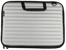 "TechByte Laptop Sleeve Case Silver Colored 15"" inch For MacBook Tablet Notebook"
