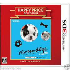 nintendogs + cats French Bull HAPPY PRICE NINTENDO 3DS JAPANESE  JAPANZON