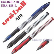 12 x UNIBALL AIR UBA-188-L ROLLER BALL PEN 0.7mm RED Made in Japan -Best Price