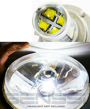 GENSSI H4 9003 LED Conversion Kit Bulb (Single) for Motorcycle 6000K White