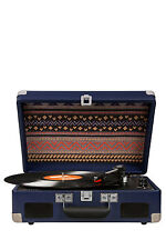 NEW Crosley CR8005C-BL Cruiser II Portable Turntable Blue