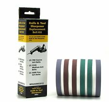 Work Sharp Knife & Tool Sharpener Replacement Belt Kit (WSKTS & WSKTS-KT Only)