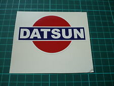 DATSUN Shaped Sticker - 100mm