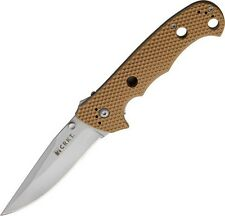 CRKT CR7904DI Hammond Desert Cruiser Folding Knife w/Tan Zytel Handles