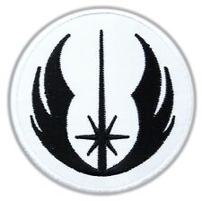 STAR WARS - Order of the Jedi Emblem Black Warrior Embroidered Iron Sew On Patch