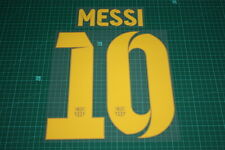 Barcelona 12/13 #10 MESSI Homekit Nameset Printing