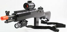 Quality M14 SOCOM High Power Airsoft Spring Rifle DE M305P Shoot Hard at 360 FPS