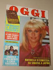 OGGI 1984/45=RAFFAELLA CARRA=ROSSANA BENZI=LANCIA THEMA=PAOLO STOPPA=LIEDHOLM=