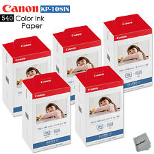 540 Color Ink Paper - 5 Pack Canon KP-108IN sheets for Canon Selphy CP910