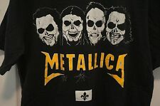 Metallica Sur Les Plaines D'Abraham 2011 Quebec Black T-Shirt Medium VERY RARE