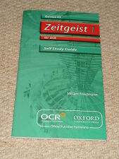 Zeitgeist 1 Self Study Guide For AQA with CD by Clare Parker