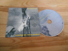 CD Indie Brace/Choir - Turning On Your Double (8 Song) Promo TAPETE cb