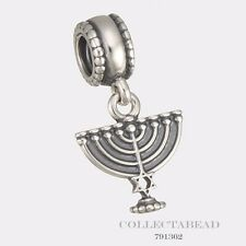 Authentic Pandora Sterling Silver Hanging Menorah Bead 791362 *SPECIAL*