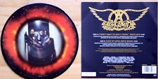 "MINT AEROSMITH I DON'T WANT TO MISS A THING LTD EDITION 7"" vinyl Picture Disc"