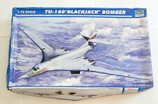 Trumpeter TU-160 Blackjack Bomber 1/72 Scale Model Kit