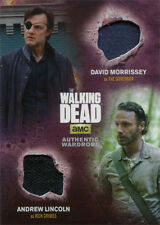 Walking Dead Season 4 Part 1 DM2 Costume Wardrobe Card Governor and Rick Grimes