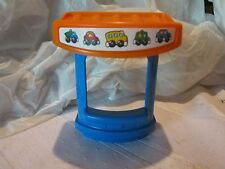 Fisher Price Little People fun sounds train booth garage section piece part toy