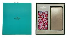 Kate Spade NY Gift Set Box iPhone 6 Plus & 6S Plus Gold Wristlet & Hearts Case