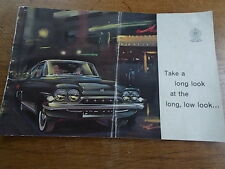 Vintage Ford Cónsul Clásico 315 COCHE FOLLETO de ventas Prestige 1961 ref-D3443/561