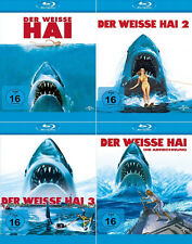 Der weisse Hai 1 + 2 + 3 +  4 Collection (Roy Scheider) Jaws     | Blu-ray | 059