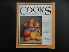 COOK'S ILLUSTRATED PROMOTIONAL ISSUE JUICKY PORK CHOPS & MUCH MORE