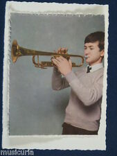 ak~ handmade greetings / birthday card 60s TRUMPET PLAYER
