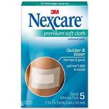 Nexcare Premium Soft Cloth Adhesive Pads 5 ea