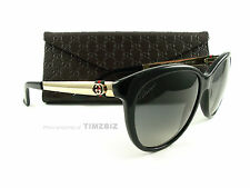 New Gucci Sunglasses GG 3784/S Black Gold ANWDX Authentic