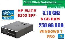 Ultra Fast HP ELITE 8200 SFF Core i3 3,1 GHz 8 GB DDR3 250 GB WINDOWS 7 PRO