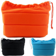 DSLR SLR Camera Bag Partition Padded Insert Case Cover Pouch Removable Dividers