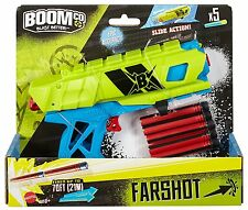 Boom Co Dart Gun FARSHOT BLASTER w Ammo Target Instructions NEW