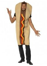 Funny GIANT HOT DOG hotdog food USA Adult unisex one size std SMIFFYS COSTUME